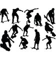 skateboard collection - vector image