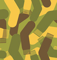Army pattern of socks Military texture camouflage vector image
