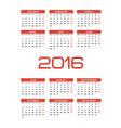 calendar1 vector image