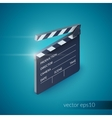 Clapperboard Realistic vector image