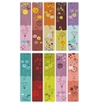 Floral bookmarks vector | Price: 3 Credits (USD $3)