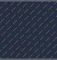 geometric seamless diagonal dash pattern vector image vector image