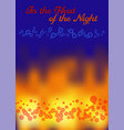 in the heat of night vector image