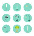 lapms circle icons collection vector image vector image
