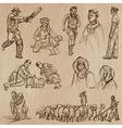Natives - Hand drawn vector image
