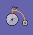 old bicycle icon set of great flat icons for vector image