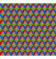 3D cube pattern vector image