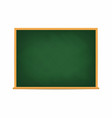 school board green blackboard dirty school board vector image