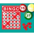 bingo8 vector image vector image