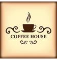 coffeecap icon blur vector image vector image