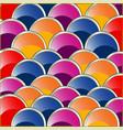 colour circles by correct rows vector image vector image