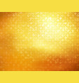 golden bokeh shining wallpaper vector image