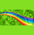 saint patricks day banner vector image vector image
