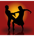 Samba Dancers vector image vector image