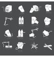 Welder icons set vector image vector image