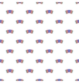 Accordion pattern cartoon style vector image vector image