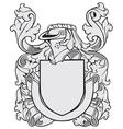 aristocratic emblem No41 vector image vector image