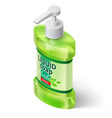Liquid soap dispenser vector image