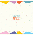 of abstract background vector image vector image