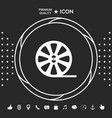 reel film icon graphic elements for your designt vector image