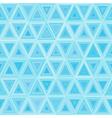 Seamless light Blue Triangulate Pattern vector image
