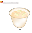 Suja or Bhutanese Butter Tea with Salted Flavor vector image vector image
