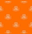 Sun energy pattern orange