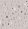 taupe distressed teardrop raindrop seamless vector image