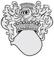 aristocratic emblem no44 vector image vector image