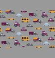 cartoon transportation background vector image