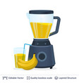 fruit juice squeezer or blender kitchen appliance vector image