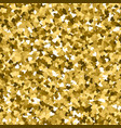 glitter seamless texture actual gold particles vector image