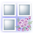 page layout photo album vector image vector image
