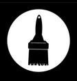 paintbrush icon design vector image