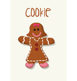 Sweet food design vector image
