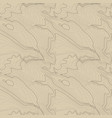 tileable topographic map background concept vector image