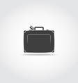 Travel case vector image