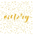 Victory Brush lettering vector image vector image