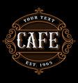 Cafe logo design