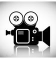 Cinema design Movie concept Flat vector image vector image