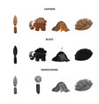 evolution and prehistory vector image