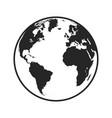 globe icon image vector image vector image