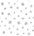 gray flower pattern seamless background vector image vector image