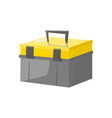 isolated toolbox cartoon grafic style vector image vector image