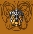 old dog king vector image vector image