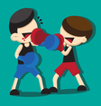 boxing cartoon vector image vector image