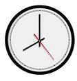 Classic wall clock vector image vector image