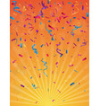 colorful birthday celebration banner vector image vector image