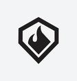 diamond logo design templates vector image vector image