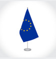 european union eu flag vector image